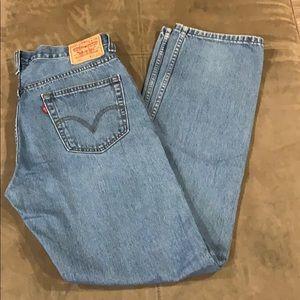 Men's Vintage Levi's 505 Jeans 34 34x36 Regular